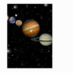 Outer Space Planets Solar System Large Garden Flag (two Sides)