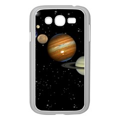 Outer Space Planets Solar System Samsung Galaxy Grand Duos I9082 Case (white)