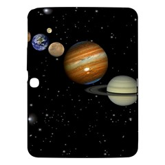 Outer Space Planets Solar System Samsung Galaxy Tab 3 (10 1 ) P5200 Hardshell Case