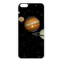 Outer Space Planets Solar System Apple Seamless iPhone 6 Plus/6S Plus Case (Transparent)