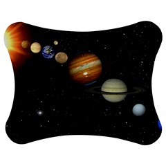 Outer Space Planets Solar System Jigsaw Puzzle Photo Stand (Bow)
