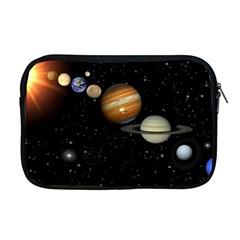 Outer Space Planets Solar System Apple Macbook Pro 17  Zipper Case