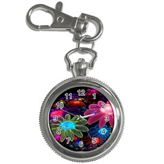 Nice 3d Flower Key Chain Watches