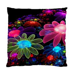 Nice 3d Flower Standard Cushion Case (two Sides)