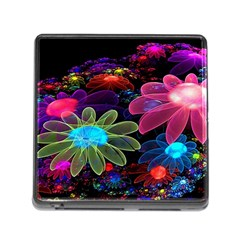 Nice 3d Flower Memory Card Reader (square)