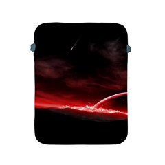 Outer Space Red Stars Star Apple Ipad 2/3/4 Protective Soft Cases