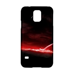 Outer Space Red Stars Star Samsung Galaxy S5 Hardshell Case