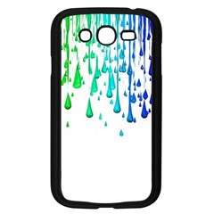Paint Drops Artistic Samsung Galaxy Grand Duos I9082 Case (black)