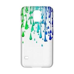 Paint Drops Artistic Samsung Galaxy S5 Hardshell Case