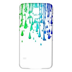 Paint Drops Artistic Samsung Galaxy S5 Back Case (white)