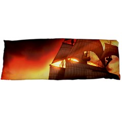 Pirate Ship Caribbean Body Pillow Case Dakimakura (two Sides)