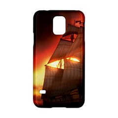 Pirate Ship Caribbean Samsung Galaxy S5 Hardshell Case