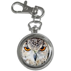 Owl Face Key Chain Watches