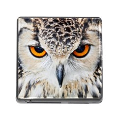 Owl Face Memory Card Reader (square)