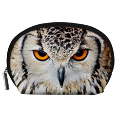 Owl Face Accessory Pouches (large)