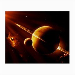 Planets Space Small Glasses Cloth (2 Side)