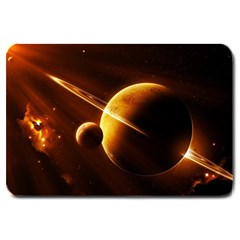 Planets Space Large Doormat