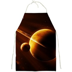 Planets Space Full Print Aprons