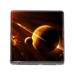 Planets Space Memory Card Reader (square)