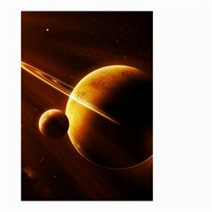 Planets Space Small Garden Flag (two Sides)
