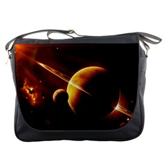 Planets Space Messenger Bags