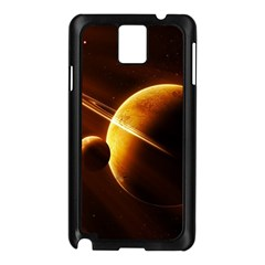 Planets Space Samsung Galaxy Note 3 N9005 Case (black)