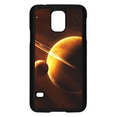 Planets Space Samsung Galaxy S5 Case (black)