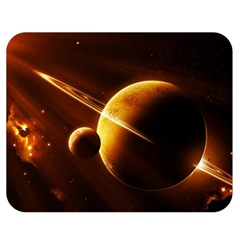 Planets Space Double Sided Flano Blanket (medium)