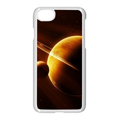 Planets Space Apple Iphone 7 Seamless Case (white)