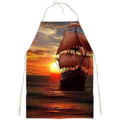 Pirate Ship Full Print Aprons