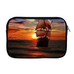 Pirate Ship Apple Macbook Pro 17  Zipper Case