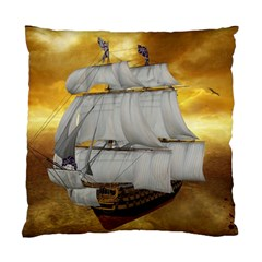 Pirate Ship Standard Cushion Case (one Side)