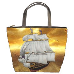 Pirate Ship Bucket Bags