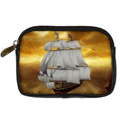 Pirate Ship Digital Camera Cases