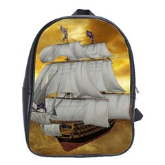Pirate Ship School Bags(large)