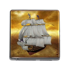 Pirate Ship Memory Card Reader (square)