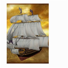 Pirate Ship Large Garden Flag (two Sides)