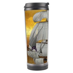 Pirate Ship Travel Tumbler