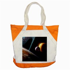 Planets In Space Accent Tote Bag