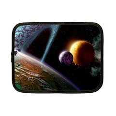Planets In Space Netbook Case (small)
