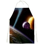 Planets In Space Full Print Aprons Front