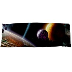 Planets In Space Body Pillow Case Dakimakura (two Sides)