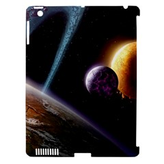 Planets In Space Apple Ipad 3/4 Hardshell Case (compatible With Smart Cover)