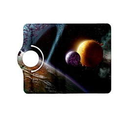 Planets In Space Kindle Fire Hd (2013) Flip 360 Case
