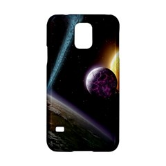 Planets In Space Samsung Galaxy S5 Hardshell Case