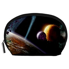 Planets In Space Accessory Pouches (large)