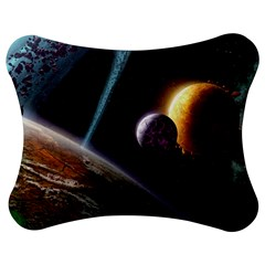 Planets In Space Jigsaw Puzzle Photo Stand (Bow)