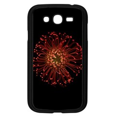 Red Flower Blooming In The Dark Samsung Galaxy Grand Duos I9082 Case (black)