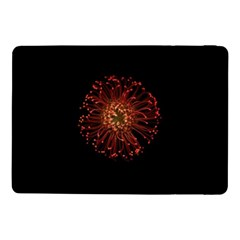 Red Flower Blooming In The Dark Samsung Galaxy Tab Pro 10 1  Flip Case
