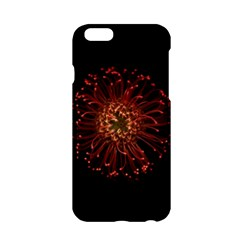 Red Flower Blooming In The Dark Apple Iphone 6/6s Hardshell Case